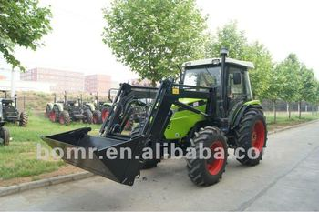 BOMR FIAT Gearbox luxury cab wheeled tractor (904 Front End Loader)