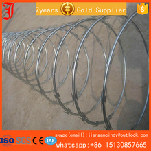 military weight barbed wire