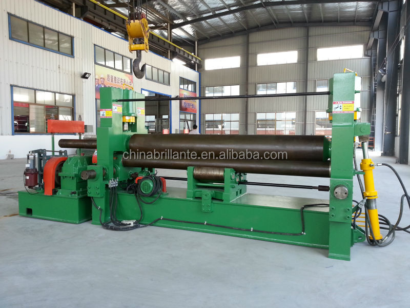 JIANGSU NANTON: BRILLANTE:W11-110X3000 Hydraulic Three Roller Symmetrical Bending <strong>Machine</strong>