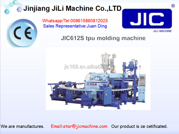 JIC TPU shoe sole injection machine