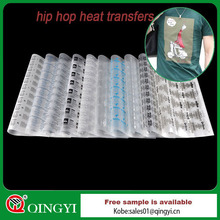 hip hop heat transfers