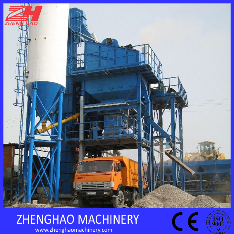 Lb1000 80tph Stationary Bitumen Asphalt Batch Mix Plant for Sale
