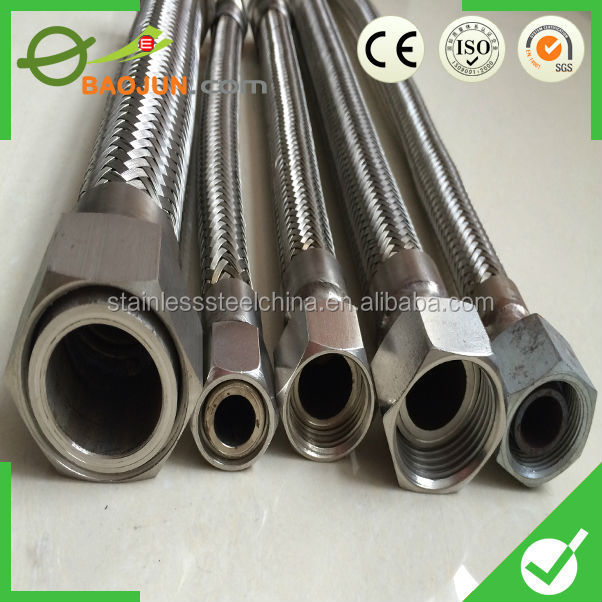 factory different specification ss flexible bellows with tie rods