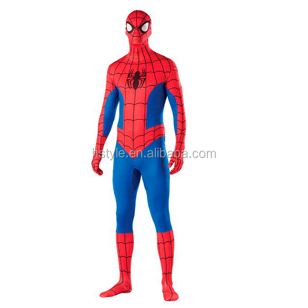 Marvel Universe Spiderman Adult 2nd Skin Costume for Man HNF023