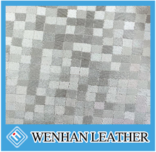 100% pvc synthetic printed leather for travel bag