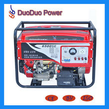 red color 5KW gasoline generator price low