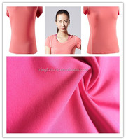 4 way spandex fabric Microfiber knit polyester lycra fabric polyester spandex blend fabric