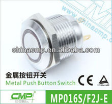 Electrical Panel Mounting Momentary Contact For Push Button Switch (Installment Size 16mm,LED)