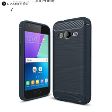 Carbon Fiber Tpu Silicone Back Cover Phone Case For Samsung Galaxy <strong>J1</strong> Mini Prime