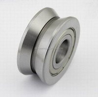 bore 12mm V groove ball bearing RV 201/12-20