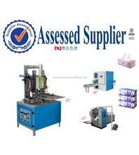box-drawing face tissue sealing wrapping machine