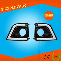 Hot selling car accessories daytime running light china products For toyota corolla led drl