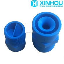 Solid cone cleaning ventilation plastic connector water nozzle