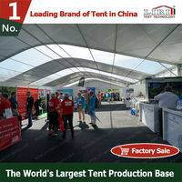 Large Arc Roof Tent Used for Exhibition
