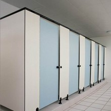 hpl wooden formica sheet toilet cubicle partition material The special large public places