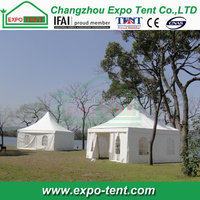 White PVC cover inflatable pagoda tent for warehouse