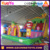 Hot sale kids inflatable large amusement castle park with birds angry
