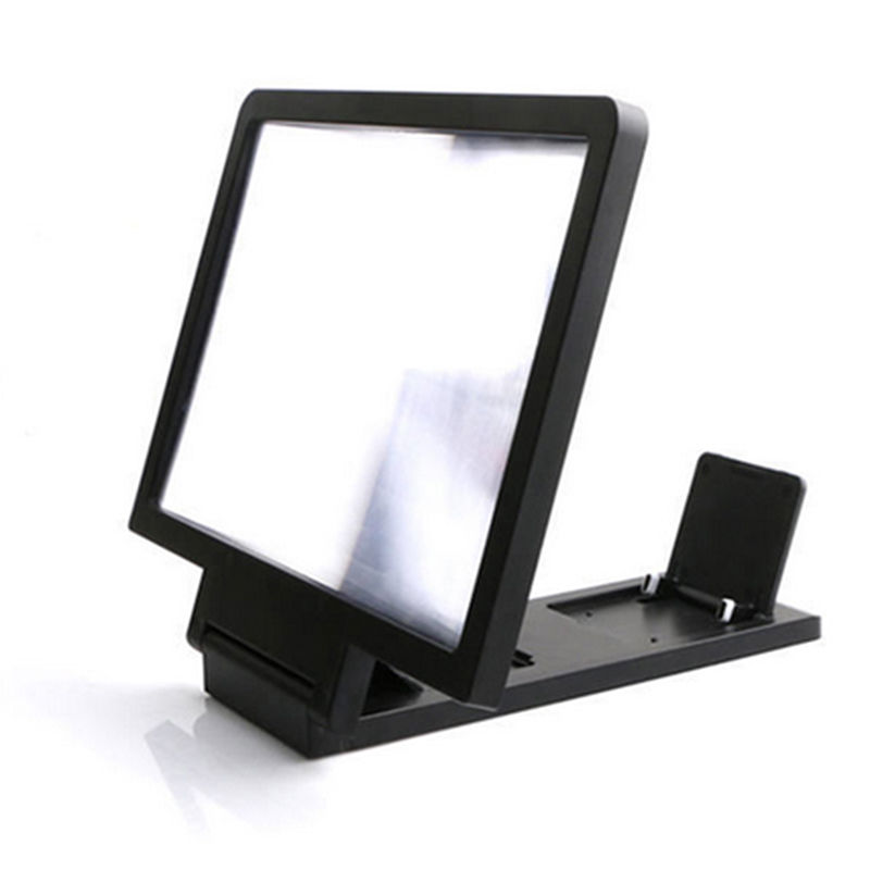 Bid Folding Mobile Phone 3D Magnifier Screen Portable HD Amplifier Enlarge Stand/Screen Magnifier
