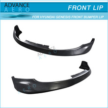 FOR 10-12 HYUNDAI GENESIS 2DR COUPE MS STYLE PU FRONT BUMPER LIP SPOILER BODY KITS