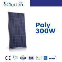 A grade high efficiency cheap price 250w-300w poly solar panel/solar module