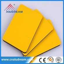 New building material 8mm Aluminum composite panel ACP/ACM cheap price for wall for advertising