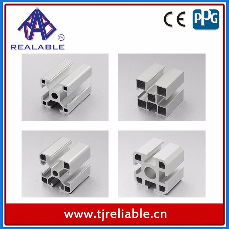 Best Selling Powder Coating Construction Aluminum Profiles for Aluminum Windows and Doors