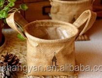 2015 new fashion jute bags for coffee beans