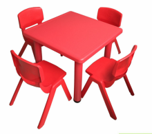 Preschool cheap plastic durable wholesale kids study table chair