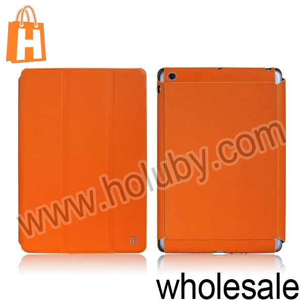 HOCO Incline Series Smart Wake Sleep Tri-Fold Stand Leather Case For iPad Mini Retina iPad Mini