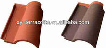 FOSHAN natural red clay matte roof tiles for sale