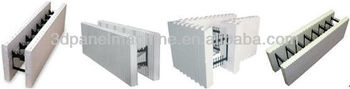 Icf block insulated concrete form insulating concrete form for Styrofoam concrete forms price
