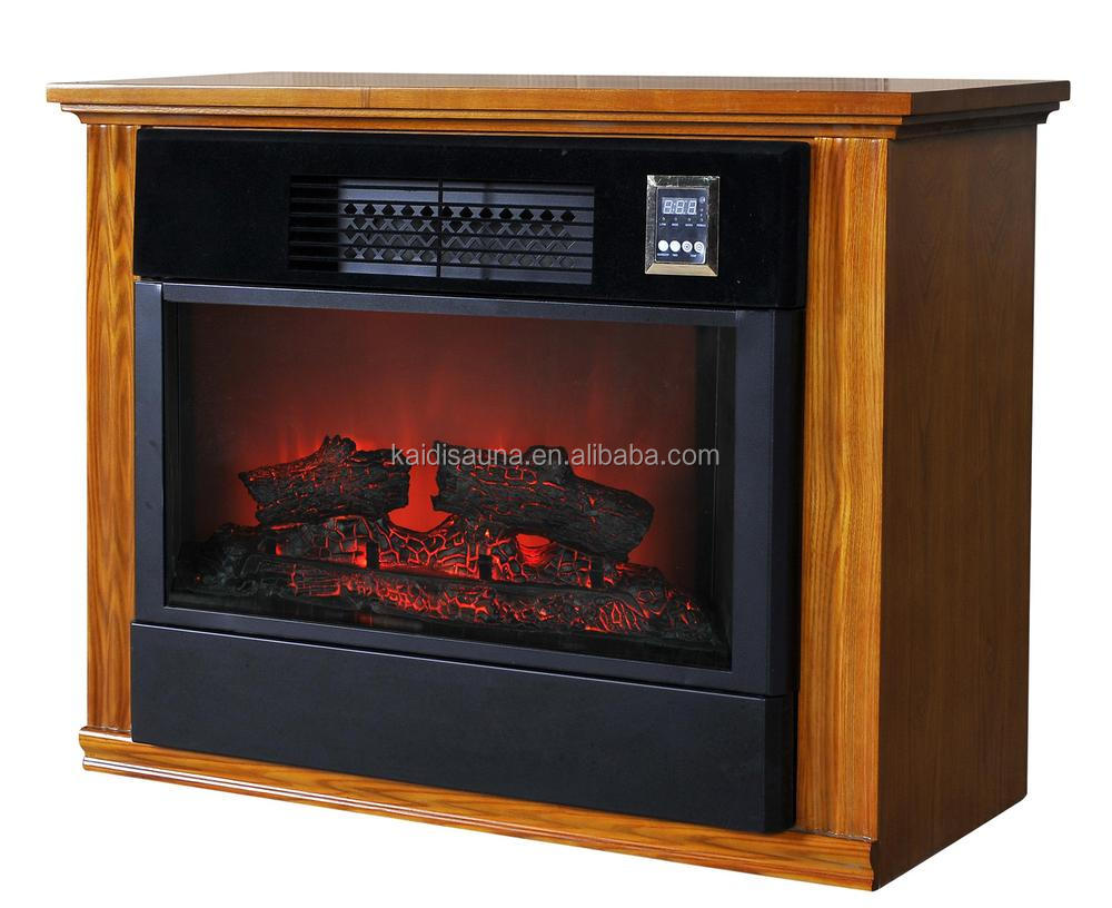 Portable Infrared home Fireplace Heater KD-6001