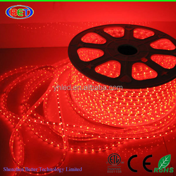 2015 micro led strip 110v led strip waterproof 5050 smd led rope china lighting
