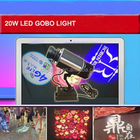 Indoor Image Rotating 20W LED Custom Gobo Image Projector