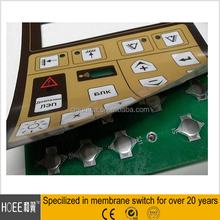 Rigid PCB,SMT PCBA, SMT PCBA with membrane switch assembly one-stop service