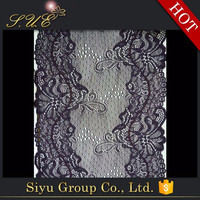 New design High quality Cheap price embroidery lace trimming designs for wedding dress