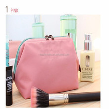 Wholesale cheap travel cosmetic bag makeup pouch personalized cosmetic bag