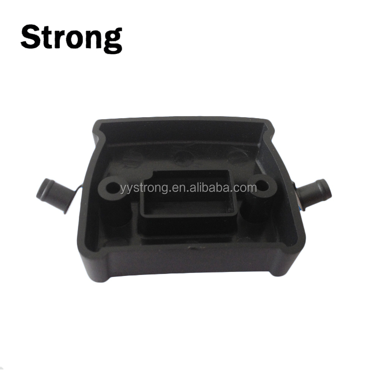 Custom made clear black molding pp abs clean small precision plastic product