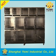 2017 New products Foldable Movable Stainless steel Pet dog cage