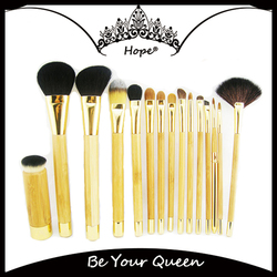 High Quality 15pcs Synthetic hair Best Seller Makeup Brush Set