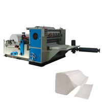 5 lines N folding hotel used paper towel production machine