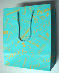 Paper Bag with handle shopping bag jewelry paper packaging bag