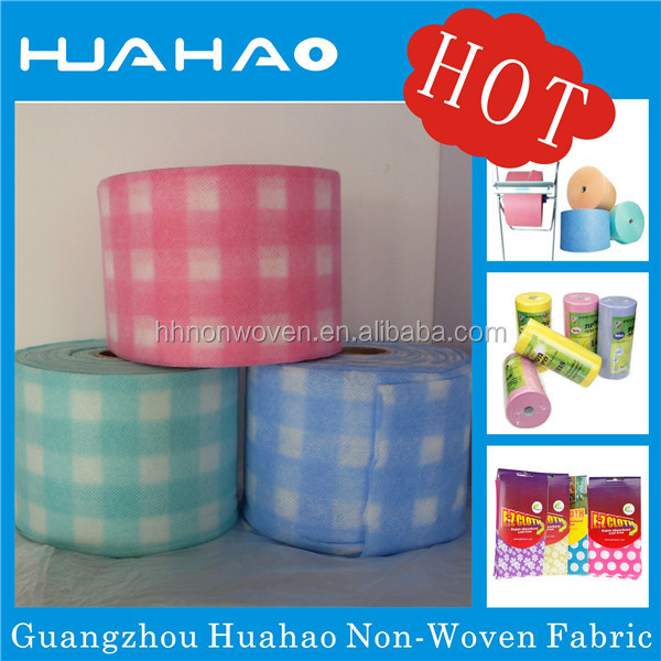 Manufacturer multi-purpose super cleaning wipes kind of nonwoven cheap wholesale washing cloth rolls