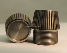 Bronze Conical Knurled Detector Cap In Stock In China