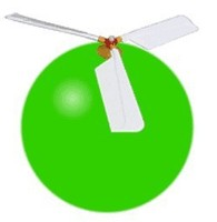 DIY Children Kids toy Balloon Helicopter flying gifts ---Cheap