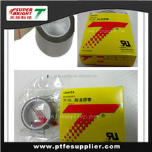 High Density PTFE Film Tape with Silicone Adhesive
