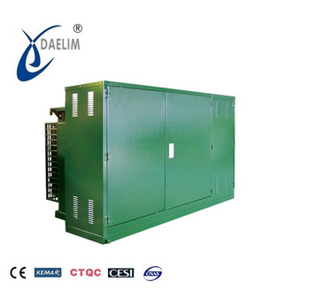 10KV 2500kva YB prefabricated power transformer substation