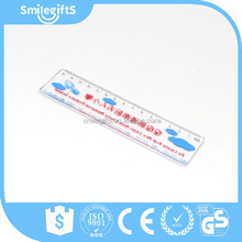 High Quality Promotional Ruler Custom Print 15cm Plastic Scale Ruler