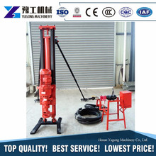 YG Housing Water Wells Oil Well Drilling Machine Electric Portable Borehole Drilling Rig
