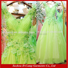 WD314 V neck lime green wedding dresses for black women south africa